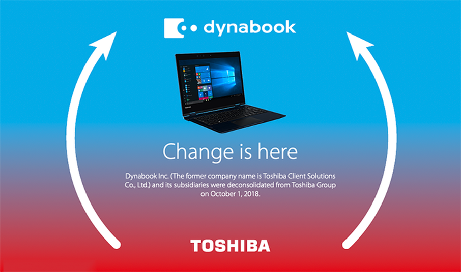 MOBILE COMPUTING PIONEER CHANGES NAME TO DYNABOOK AMERICAS