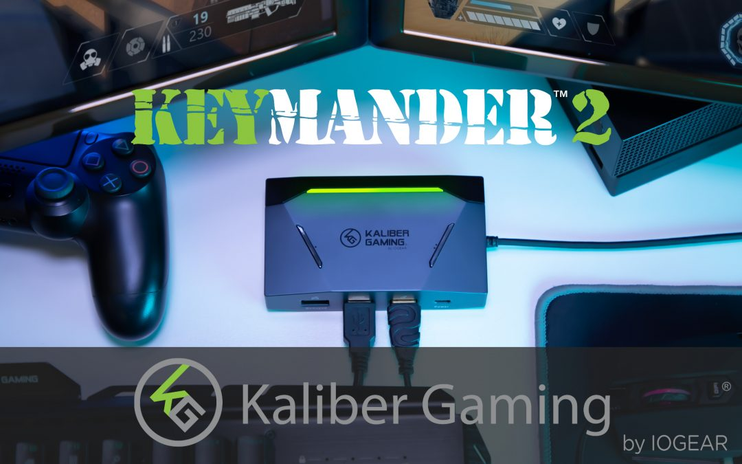 KeyMander 2 from Kaliber Gaming by IOGEAR Brings the Unparalleled Precision and Control of Desktop-Style Gaming to the Console