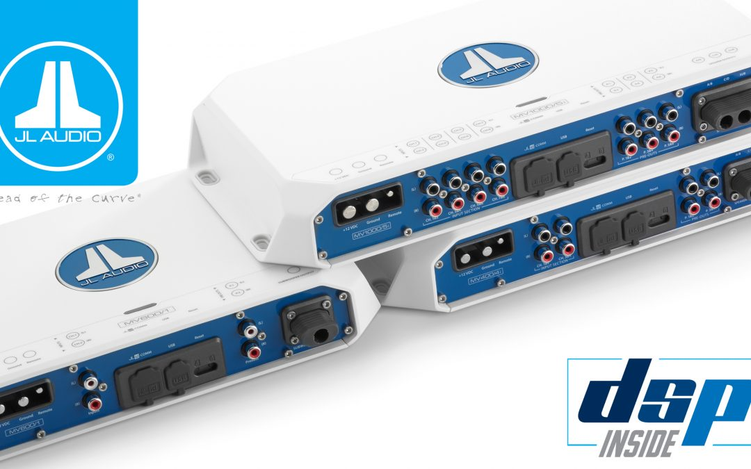 JL Audio Introduces MVi Marine Amplifiers with Integrated DSP