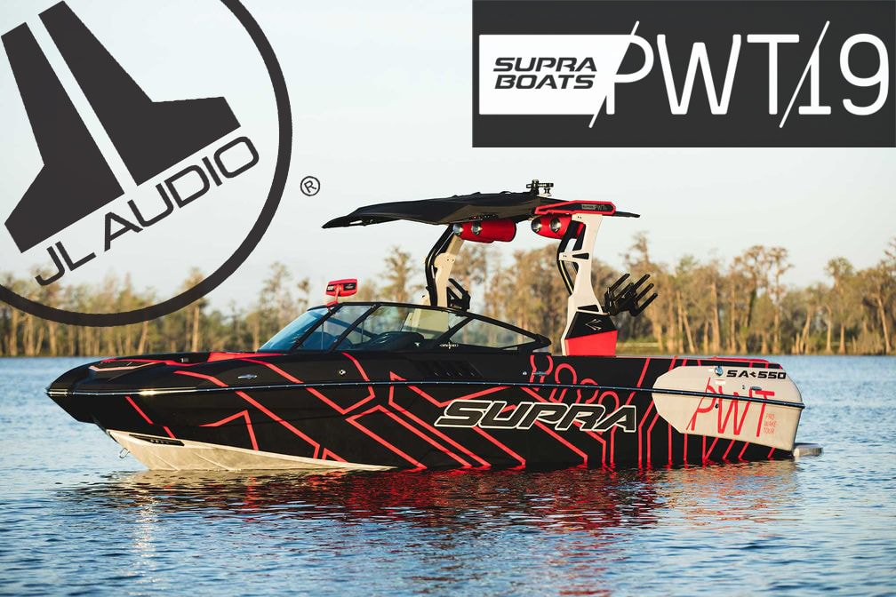 JL Audio Named Gold-Level Sponsor for 2019 Supra Boats Pro Wakeboard Tour