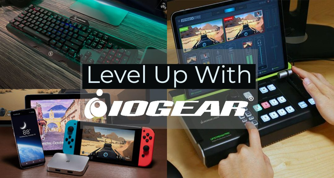 IOGEAR Launches UpStream Line of Live Streaming Video Production Tools for Content Creators