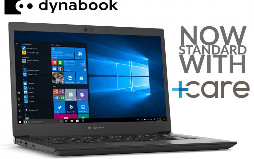 DYNABOOK ADDS 3- AND 4-YEAR WARRANTY WITH ON-SITE SUPPORT STANDARD TO NEW LAPTOPS