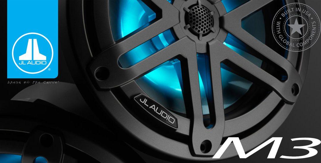 JL Audio Introduces M3 High-Performance Marine Loudspeakers