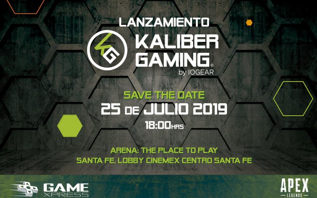 IOGEAR and Apex Legends Introduce Kaliber Gaming Product Line to Latin American Market