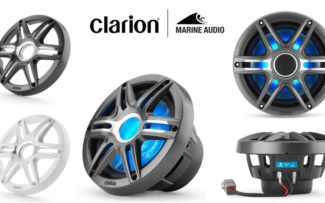 Clarion Marine Launches New Premium Speaker Line