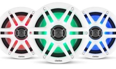 Clarion Marine Unveils Affordable Speaker Line for Open-Air Boating