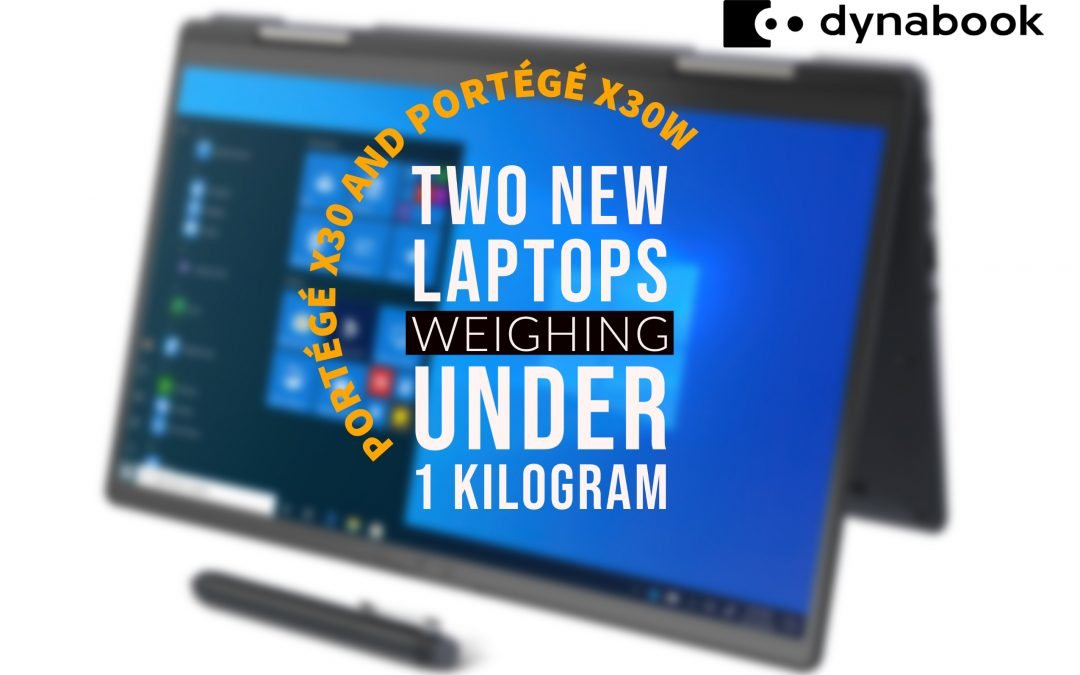 Dynabook Reveals New Featherlight Laptops Equipped With 11th Gen Intel® Core™ Processors  and Intel® Iris® Xe Graphics