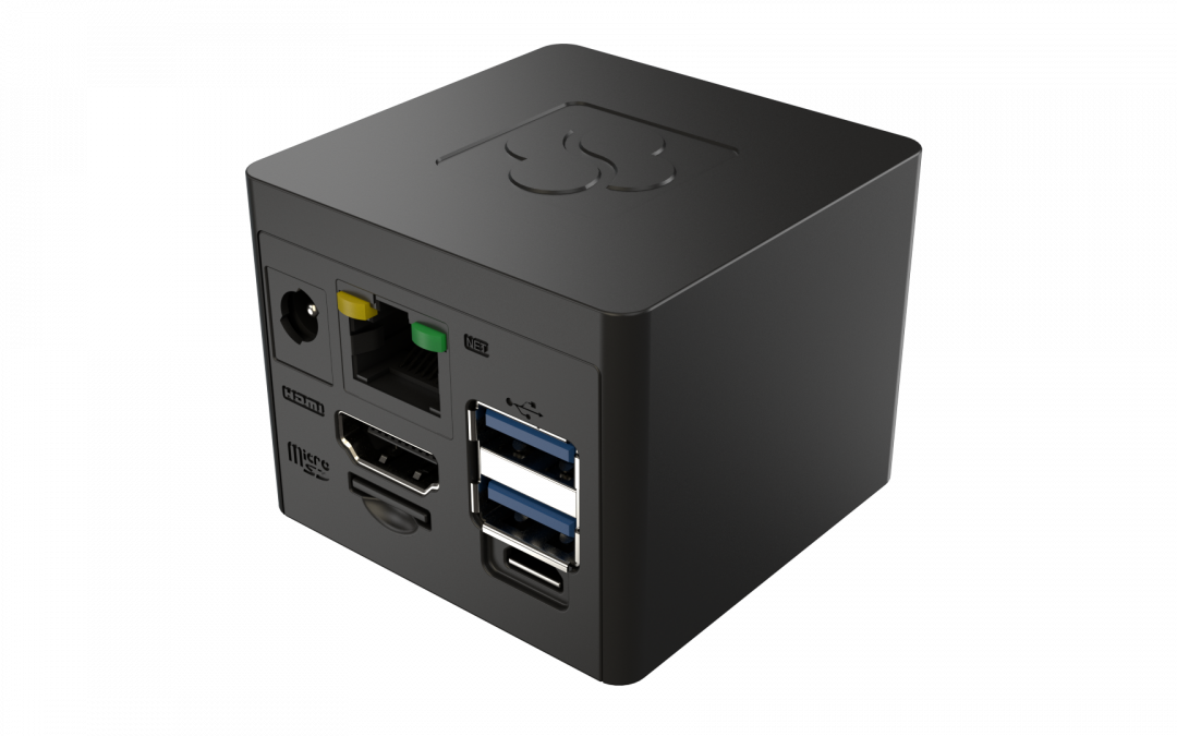 This 2-Inch Cube-Shaped Desktop Gets NXP i.MX 8M Plus Upgrade