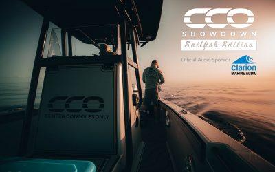 CCO's Sailfish Event Reels in Clarion Marine Audio Sponsorship