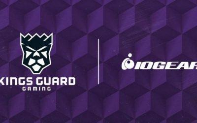 IOGEAR Re-Ups Sponsorship of Kings Guard's '21 NBA 2K League Season